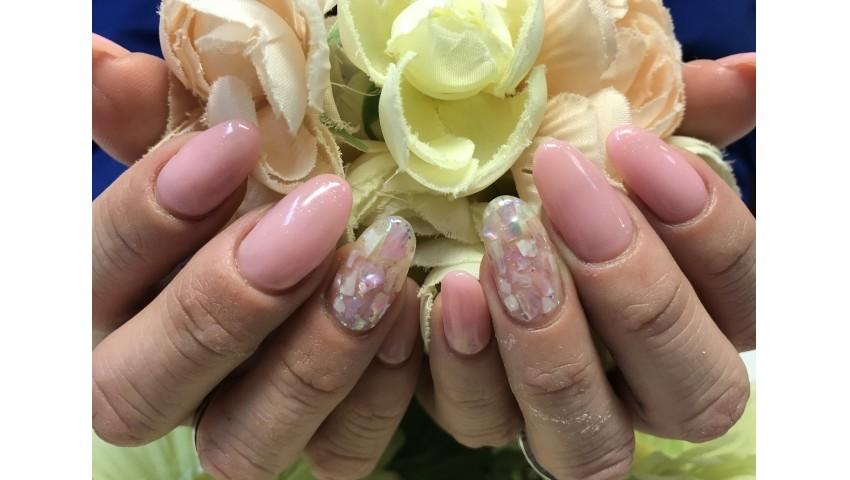 桜色とシェル